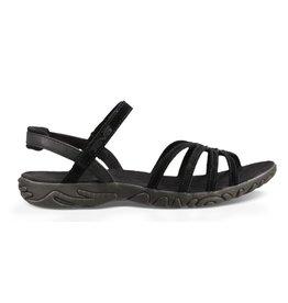 Teva Kayenta zwart suede sandalen dames