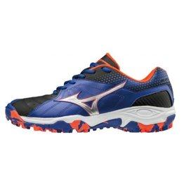 Mizuno Wave Gaia 3 blauw outdoor korfbalschoenen uni