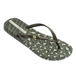 Ipanema Animal Print groen slippers dames