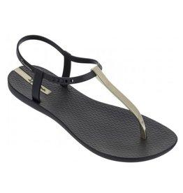 Ipanema Charm Sandal zwart goud sandalen dames