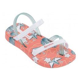 Ipanema Fashion Sandal oranje wit sandalen baby