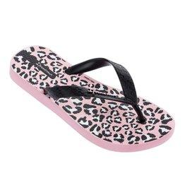 Ipanema Classic roze zwart slippers kids