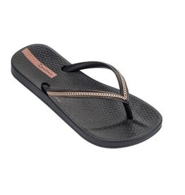 Ipanema Anatomic Metallic zwart rosé slippers kids