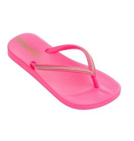 Ipanema Anatomic Metallic roze neon slippers kids