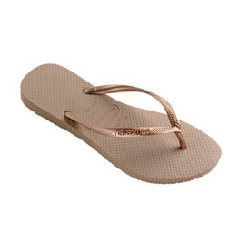 Havaianas Slim  rose gold slippers dames