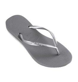 Havaianas Slim steel grey slippers meisjes