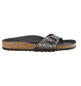 Birkenstock Madrid BS Metallic Stone zwart sandalen dames