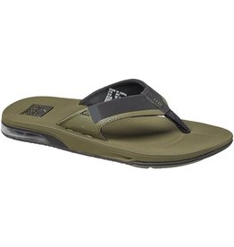 Reef Fanning low groen slippers heren