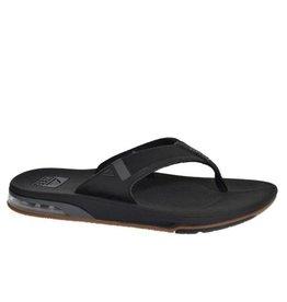 Reef Fanning low zwart slippers heren