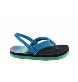 Reef Little AHI blauw groen slippers kids