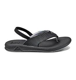 Reef Grom Rover zwart slippers kids