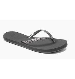 Reef Stargazer donker grijs slippers dames