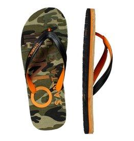 O'Neill FM Profile groen oranje slippers heren