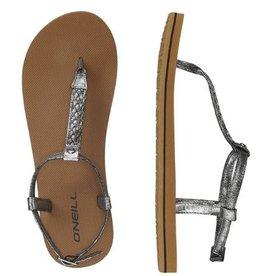 O'Neill FW Braided Ditsy Plus grijs sandalen dames