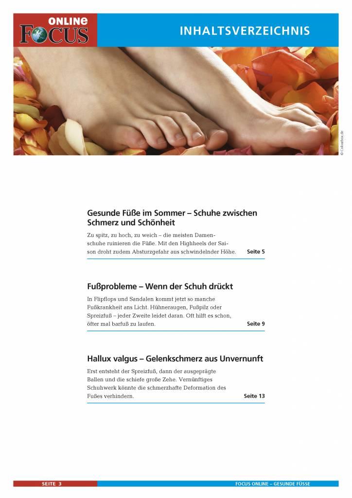 FOCUS Online Die Füße: Gesunde Füße