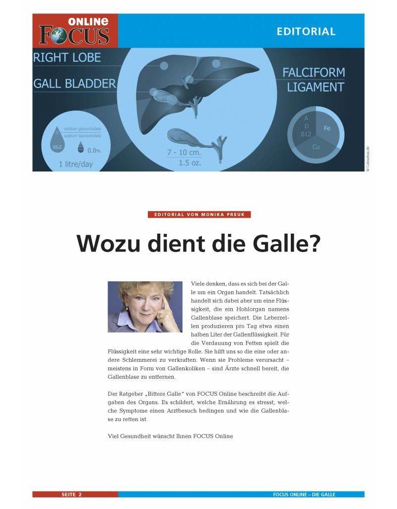 FOCUS Online Die Galle: Bittere Galle