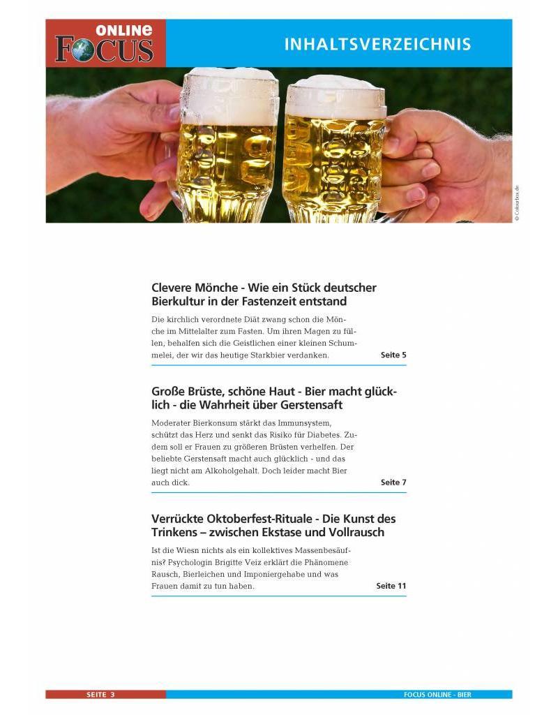FOCUS Online Unser Bier: Goldener Gerstensaft