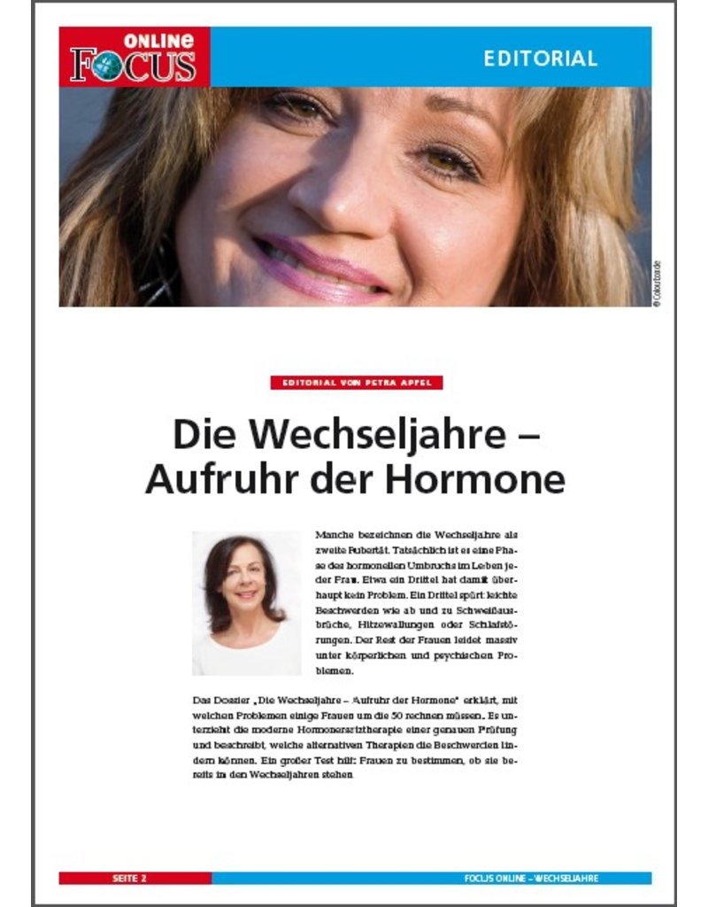 FOCUS Online Wechseljahre: Menopause
