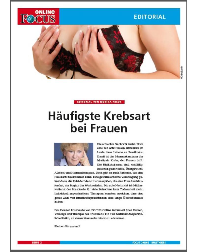 FOCUS Online Brustkrebs