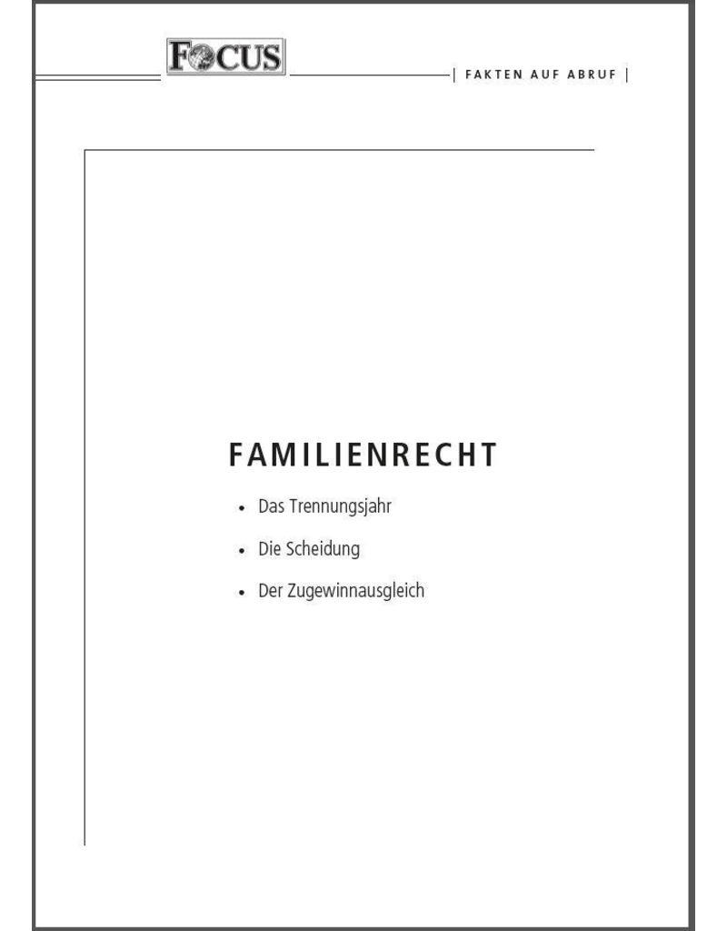 FOCUS Fakten auf Abruf: Familienrecht - Kombipaket