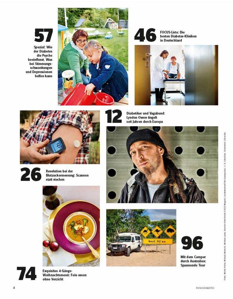 FOCUS Leben, wie ich will! Mit FOCUS-Diabetes. In dieser Ausgabe: Messen ohne Stechen Nr. 4/2014