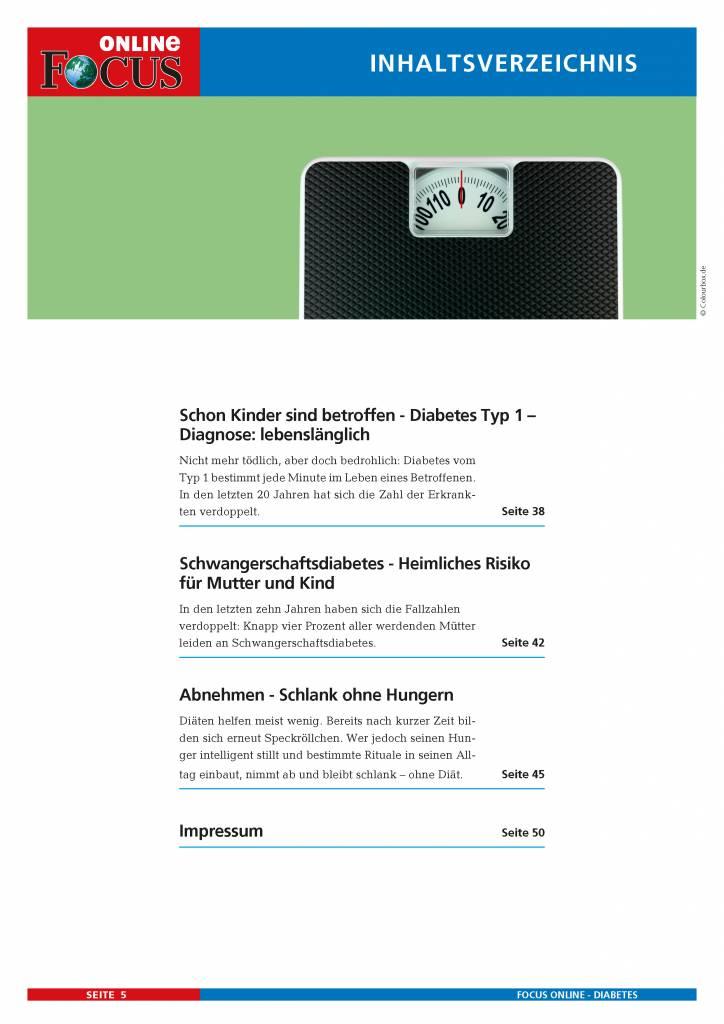 Diabetes Ratgeber Das Sollten Sie Wissen Focus Online Pdf Shop