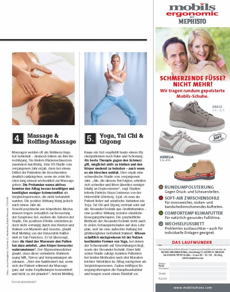 FOCUS FOCUS Gesundheit - Wenn der Rücken schmerzt
