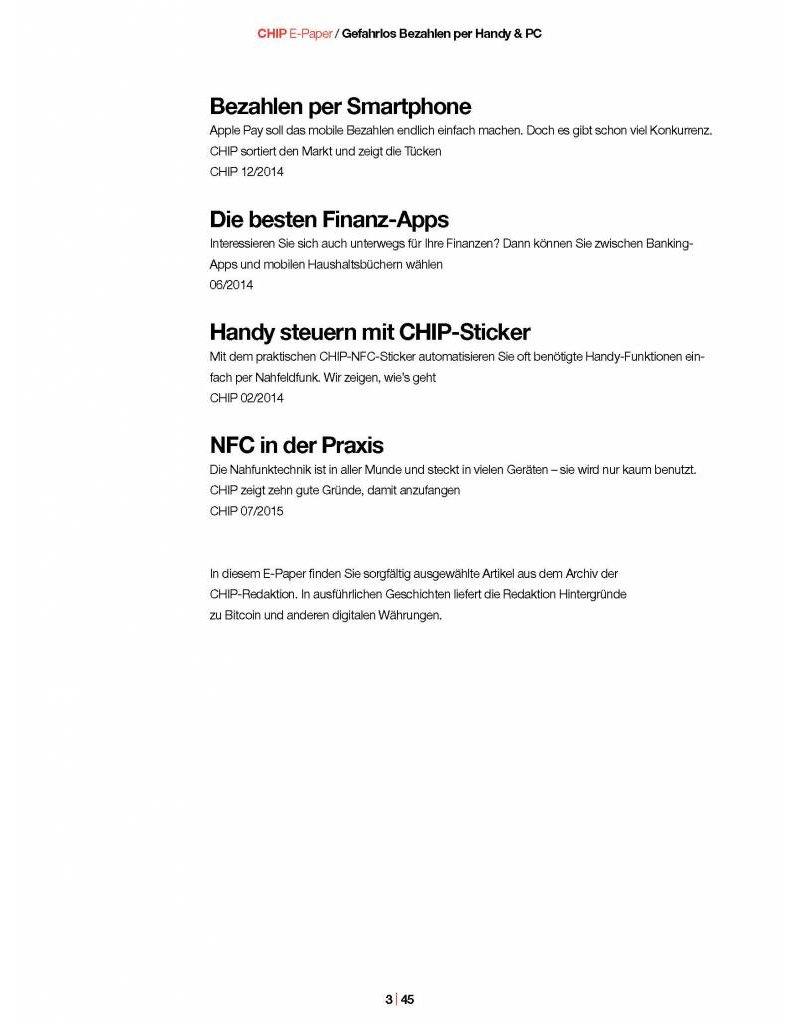 CHIP Gefahrlos Bezahlen mit Handy & PC