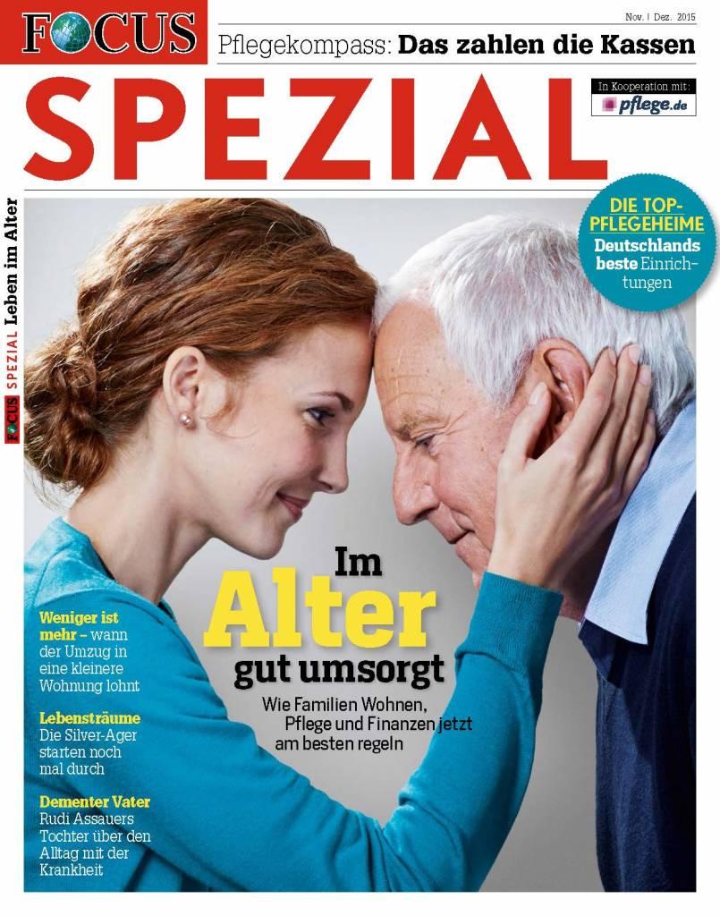 """FOCUS Focus Spezial """"Leben und Wohnen im Alter"""""""