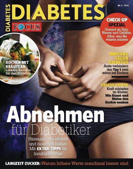 FOCUS FOCUS Diabetes - Der große Gesundheits-Check: Wie gesund sind Herz, Nerven, Nieren & Co.? Leben, wie ich will. Mit FOCUS-Diabetes.