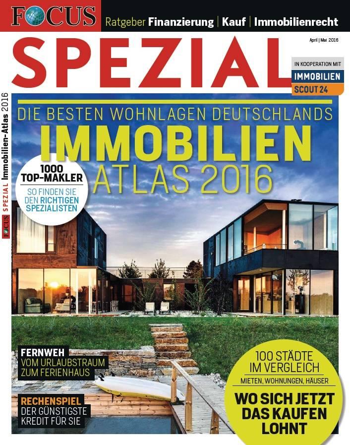 FOCUS FOCUS Spezial - Die besten Wohnlagen Deutschlands - 2016