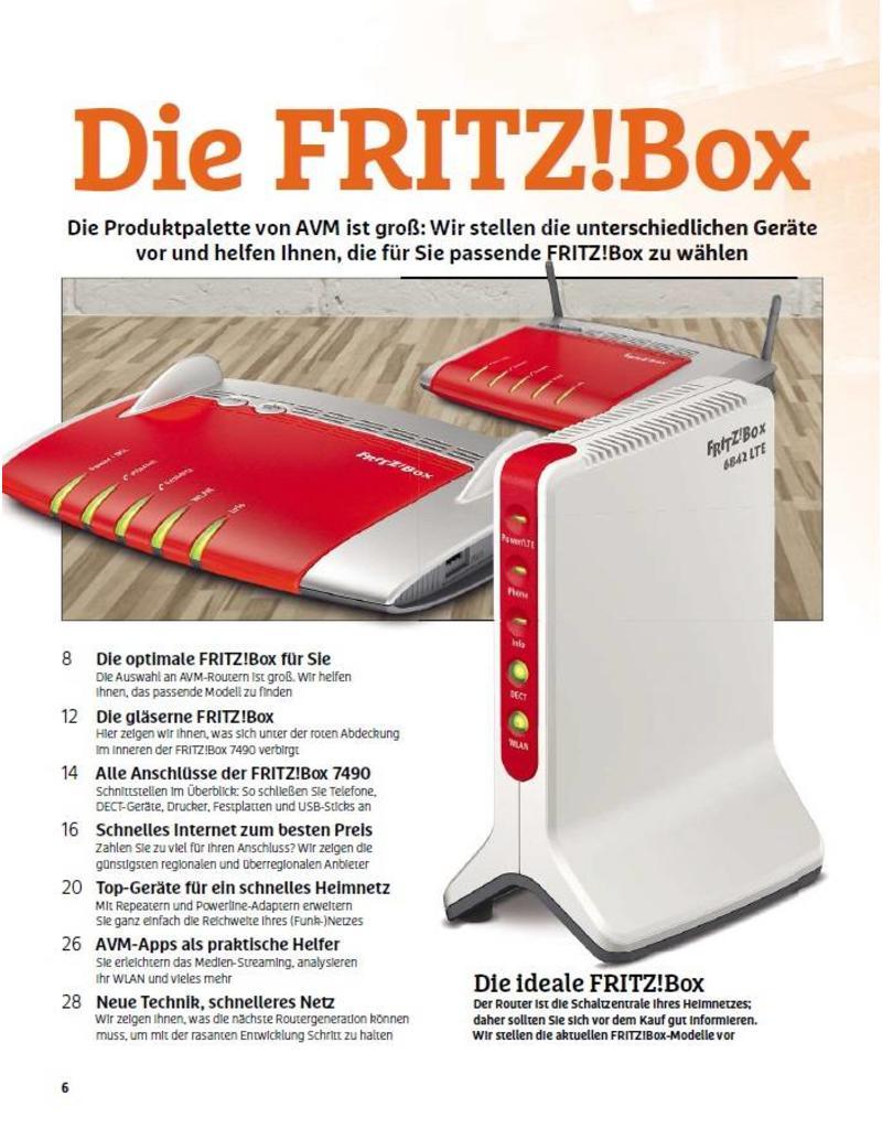 CHIP CHIP: Das ultimative FRITZ!Box-Handbuch 2016