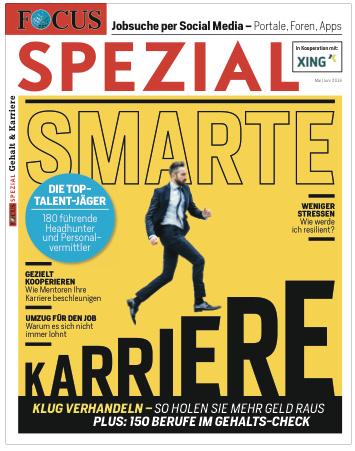 "FOCUS FOCUS Spezial ""Gehalt & Karriere 2016"""