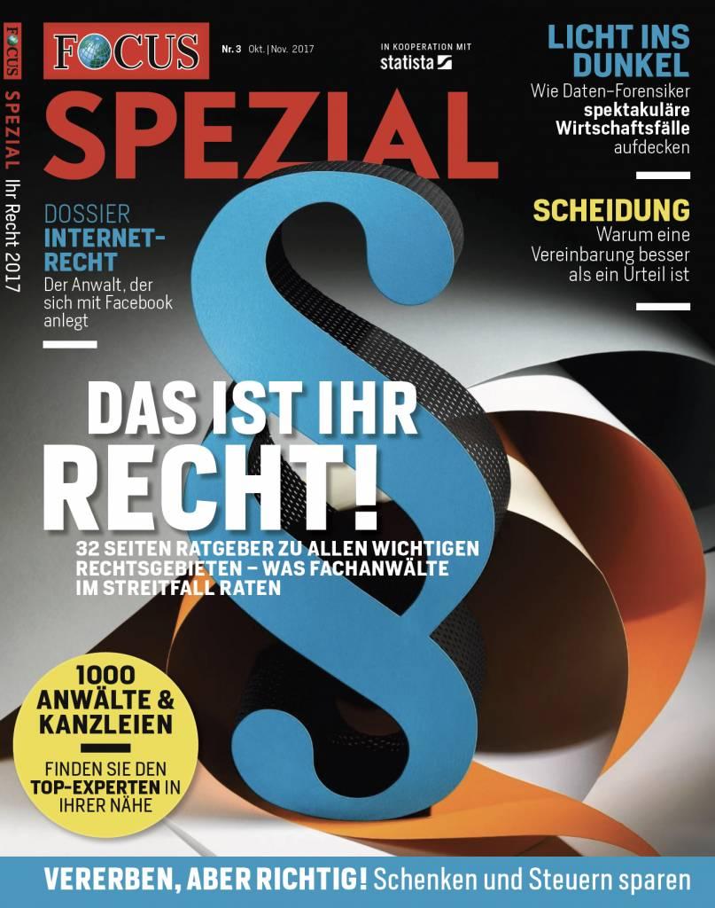 FOCUS FOCUS Spezial - Deutschlands Top-Anwälte 2017