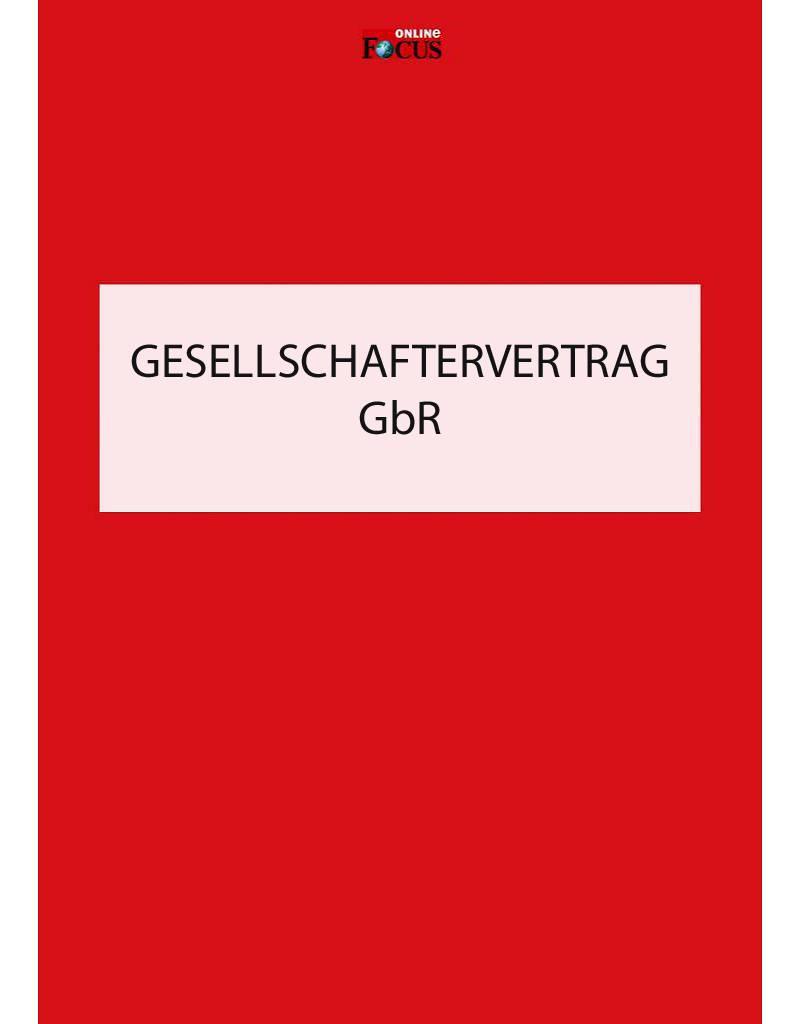 FOCUS Online Vorlage GbR-Gesellschaftervertrag