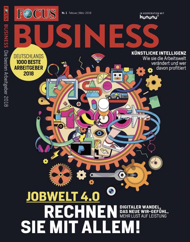 FOCUS FOCUS Business - Deutschlands beste Arbeitgeber 2018