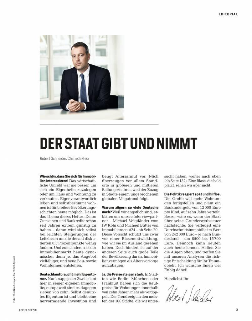FOCUS  Die besten Wohnlagen Deutschlands - 2018