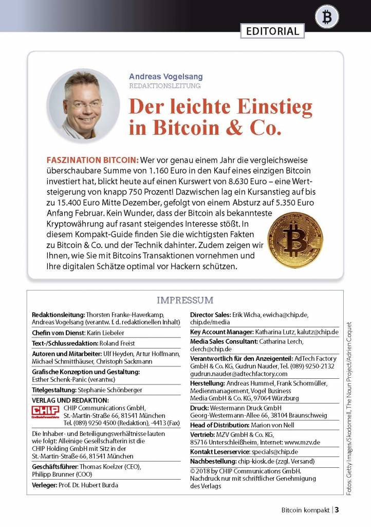 CHIP Bitcoin - Der ultimative Guide