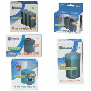 SuperFish Ersatzkartuschen für die SuperFish aqua-flow Filter