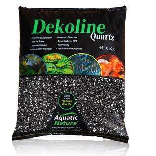 AquaticNature Quarzkies London schwarz/weiß