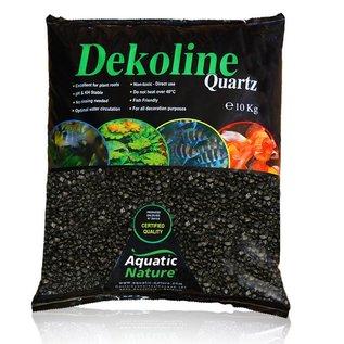 AquaticNature Quarzkies Nero schwarz