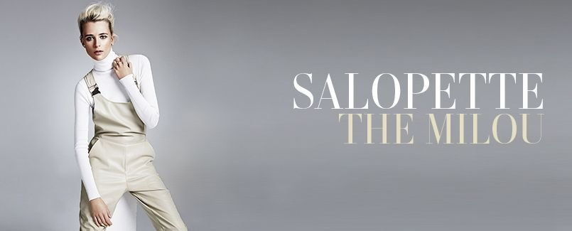 SALOPETTE   THE MILOU