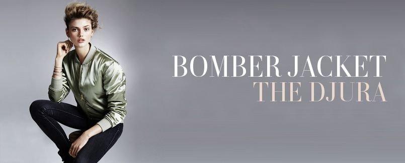 BOMBER JACKET   THE DJURA