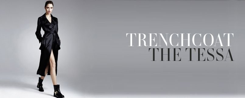 TRENCHCOAT   THE TESSA