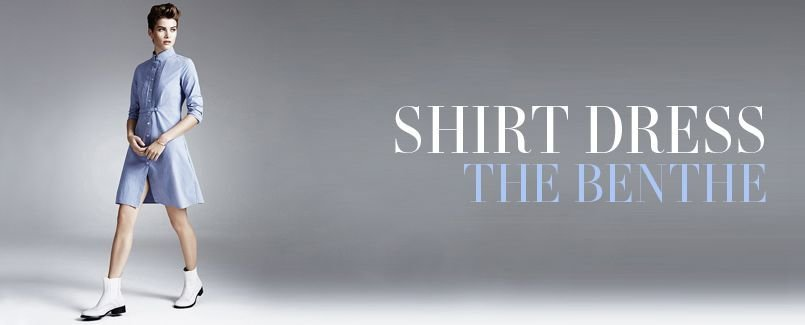 SHIRT DRESS   THE BENTHE