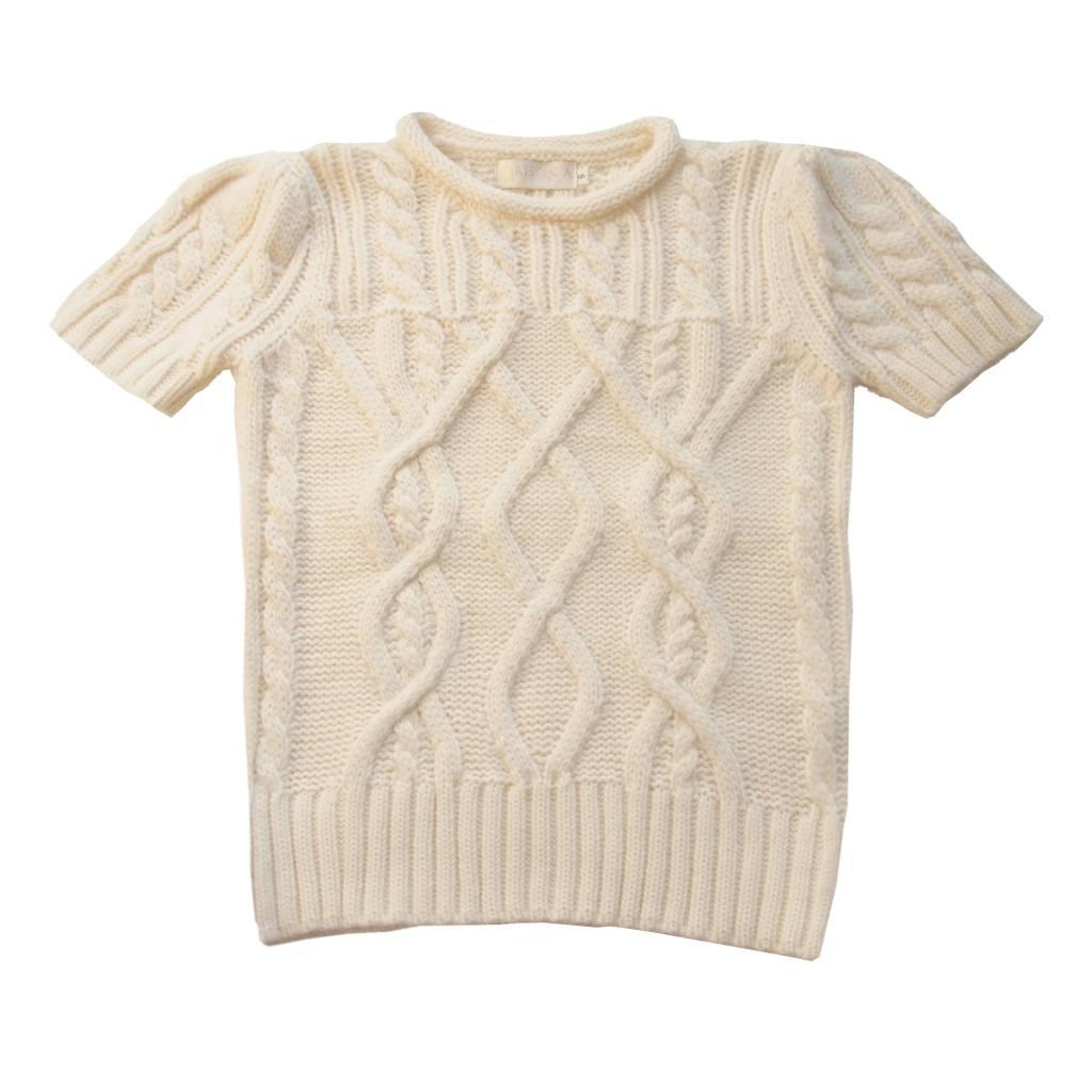 Cable knit sweater - Maison A | Boutique