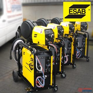 ESAB Alle machines zijn incl. TOORTS, AARDKABEL, (REDUCEERVENTIEL)