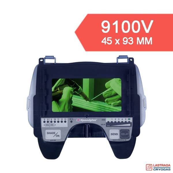 Speedglas 9100 - Cassette - verschillende grootte lasfilters