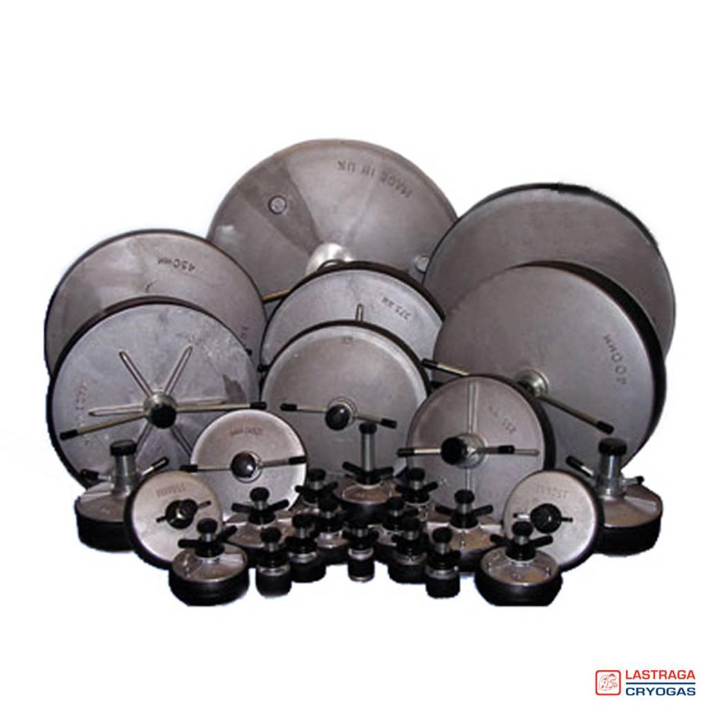 """Aluminium pijpstoppers - Doorlaat ½"""" BSP aansluiting"""