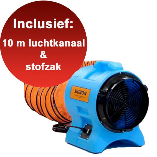 Ventilator - Skiron ø200 en ø300 mm - Mobiele afzuiging